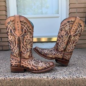 Corral Stain Glass Boots